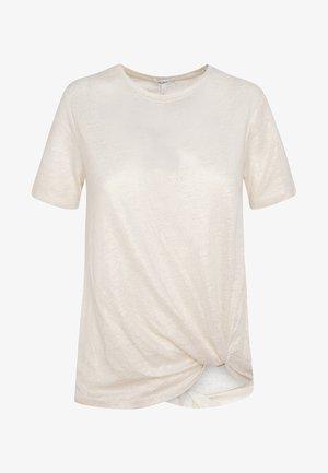 LUA - T-shirt basic - white