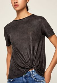 Pepe Jeans - LUA - Basic T-shirt - anthracite - 3