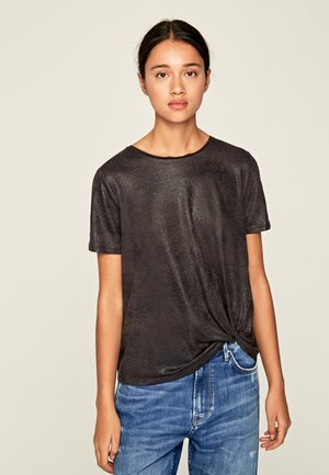 LUA - T-shirt basic - anthracite