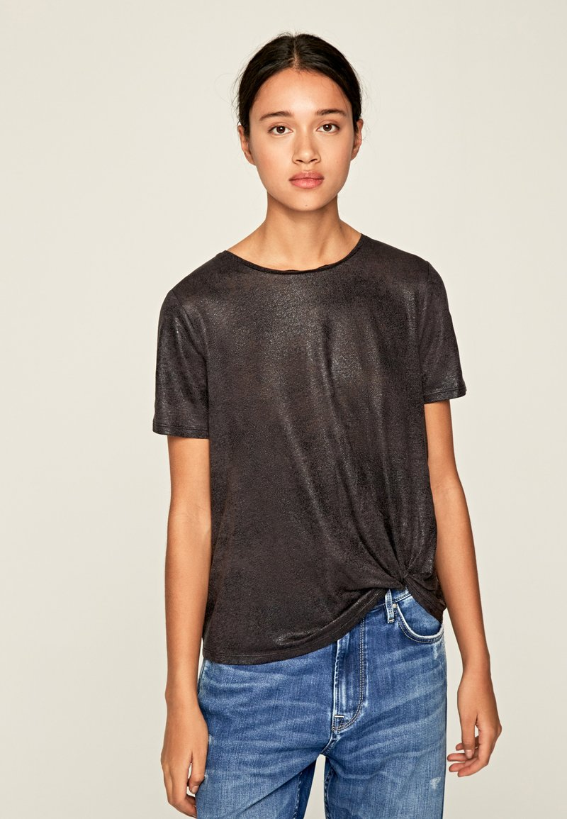 Pepe Jeans - LUA - Basic T-shirt - anthracite