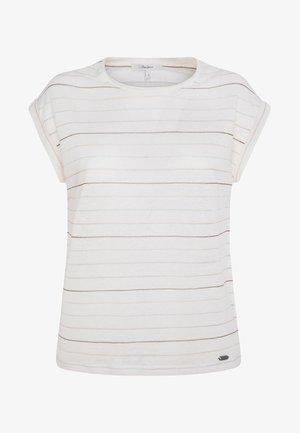 LORENA - Print T-shirt - white