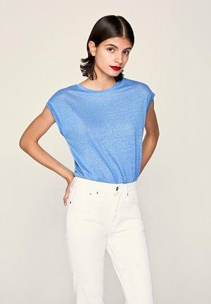 LORENA  - Basic T-shirt - ultra blau