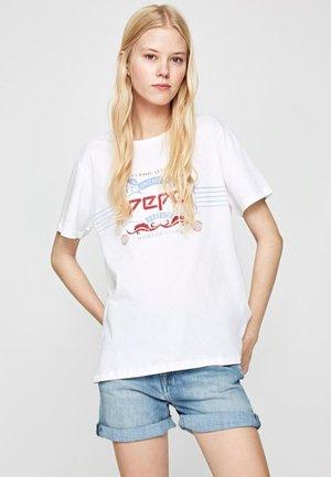 #DUAFORPEPE - T-shirt med print - white