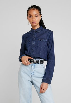 ROSIE - Overhemdblouse - dark-blue denim