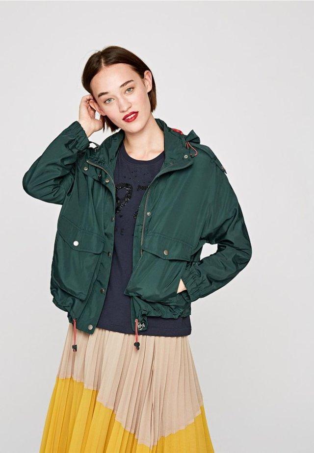 LINDA - Light jacket - green