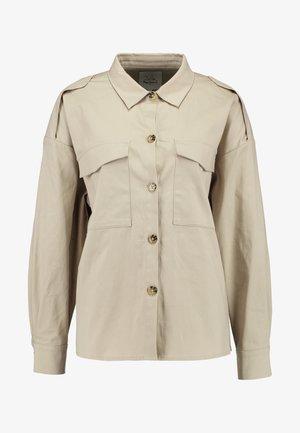 DUA LIPA X PEPE JEANS - Button-down blouse - stone