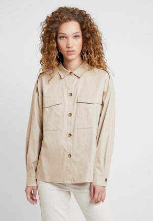 DUA LIPA X PEPE JEANS - Button-down blouse - stone