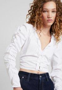Pepe Jeans - DUA LIPA X PEPE JEANS  - Blouse - white - 4