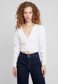 Pepe Jeans - DUA LIPA X PEPE JEANS  - Blouse - white - 0