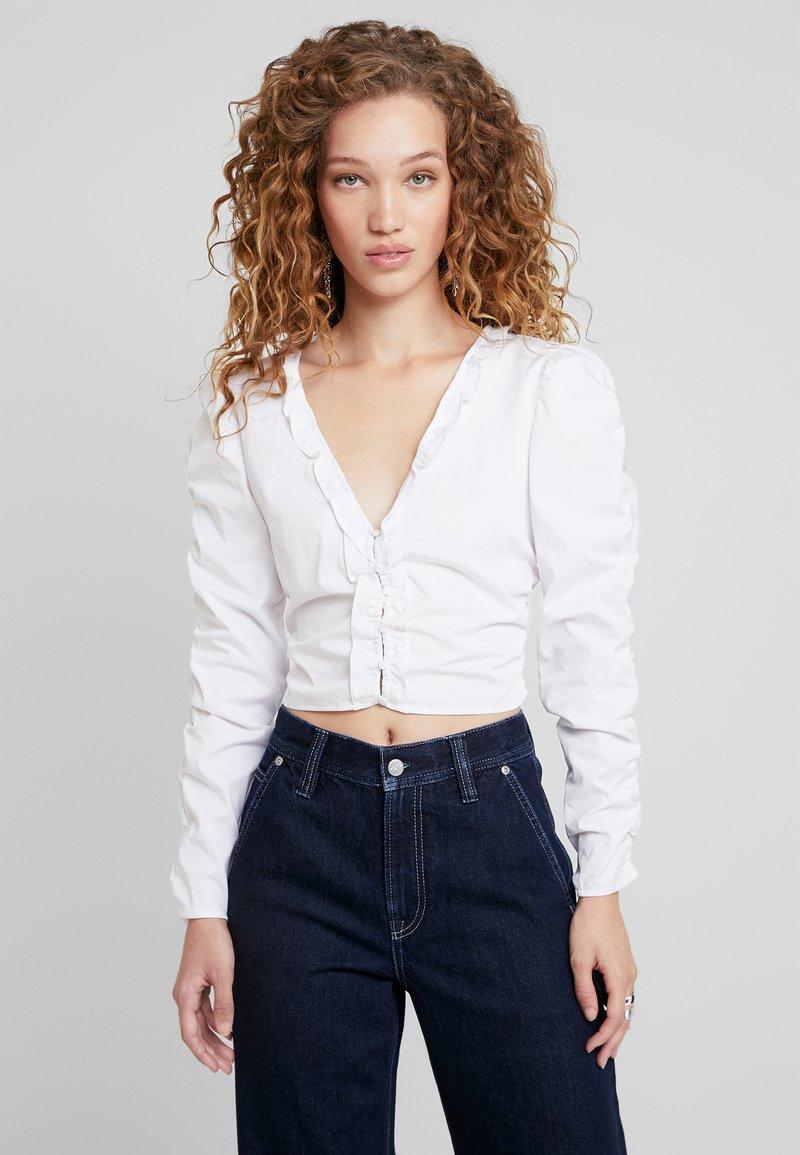 Pepe Jeans - DUA LIPA X PEPE JEANS  - Blouse - white