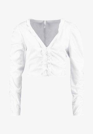 DUA LIPA X PEPE JEANS  - Blus - white