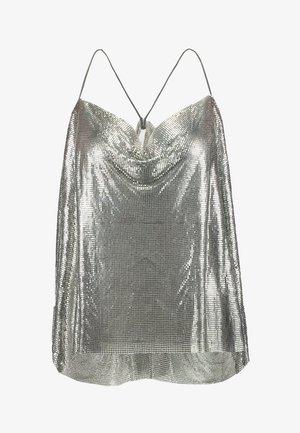 DUA LIPA X PEPE JEANS  - Top - silver-coloured