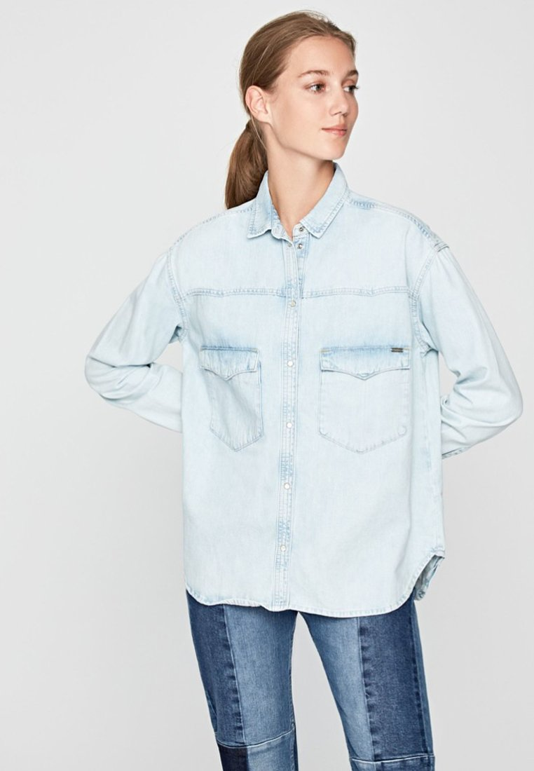 Pepe Jeans - MAE - Overhemdblouse - blue denim