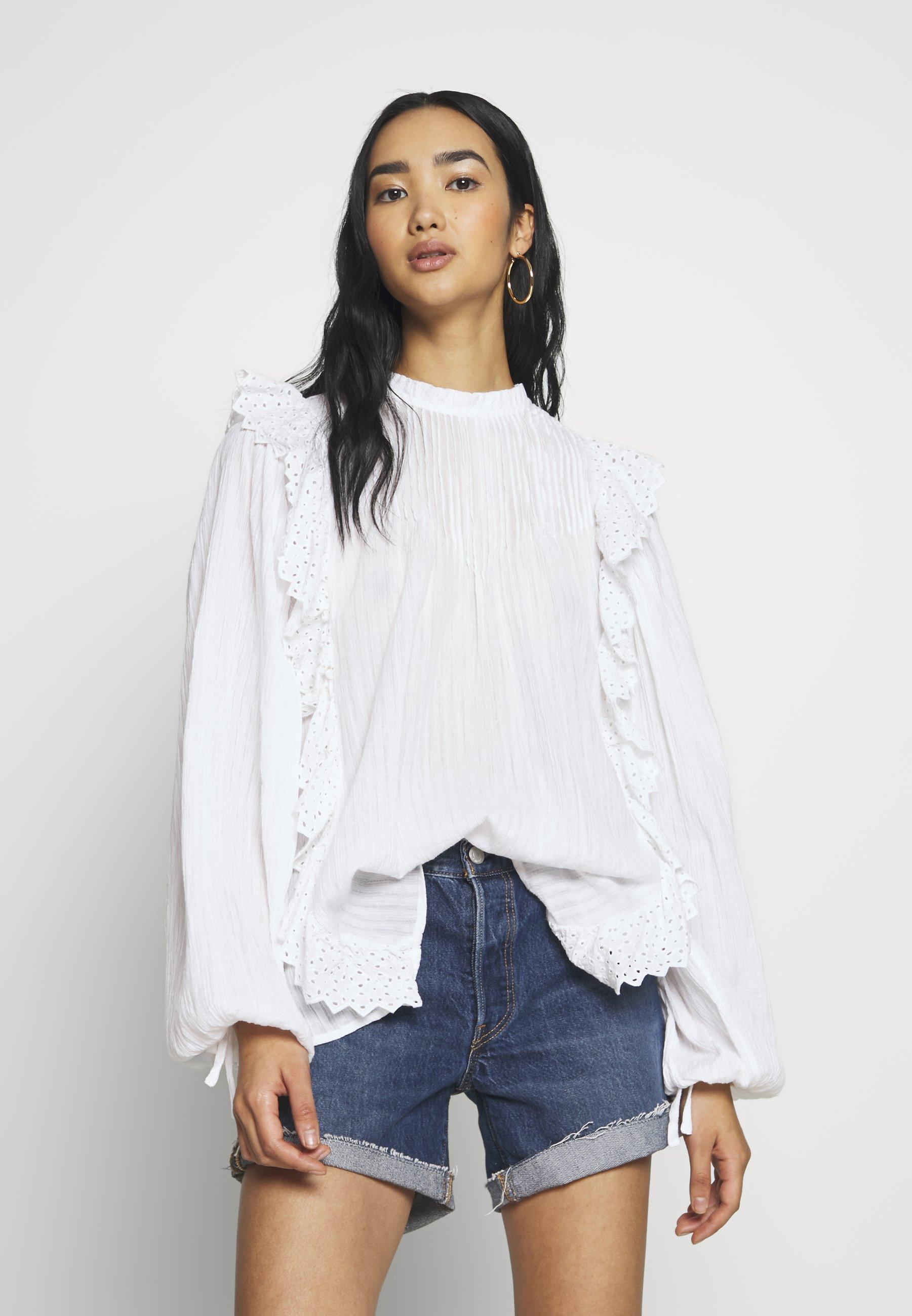 Pepe Jeans RISPAH - Bluser - white