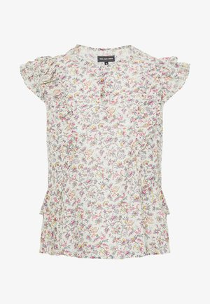 BLOUSE - Bluser - off-white/multi-coloured