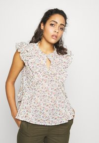 Pepe Jeans - BLOUSE - Blouse - off-white/multi-coloured - 0