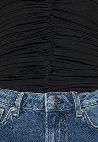 Pepe Jeans - DUA LIPA x PEPE JEANS - Bluzka - black - 5