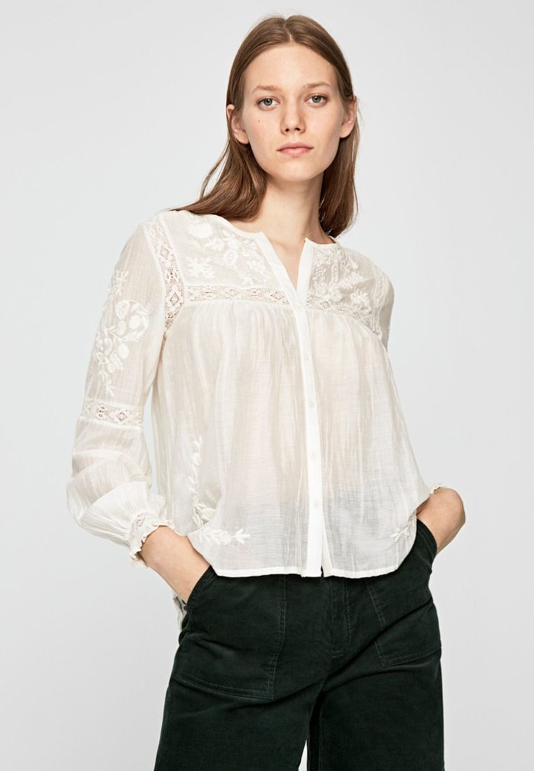 Pepe Jeans - Bluse - off-white