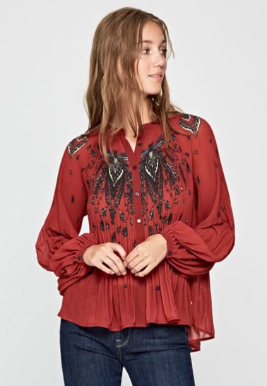 Pepe Jeans - DENISSE - Bluse - red