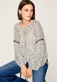 Pepe Jeans - SIRENE - Blouse - off-white/blue - 4