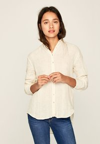 Pepe Jeans - BELLA - Button-down blouse - white - 0