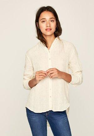 BELLA - Button-down blouse - white