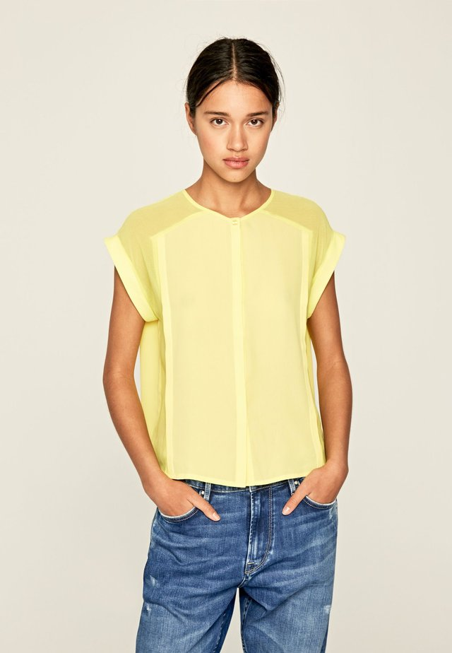ERIN - Blusa - yellow