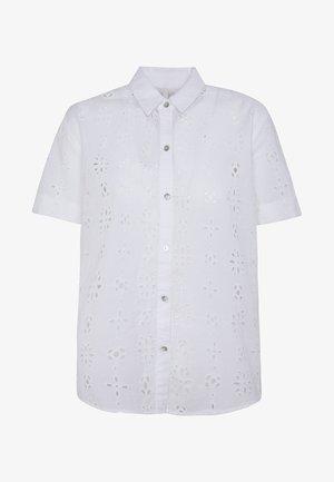 COCO - Button-down blouse - white
