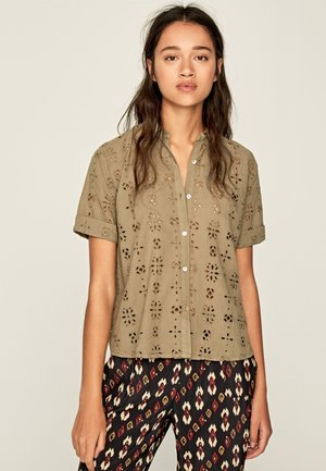 COCO - Button-down blouse - thyme