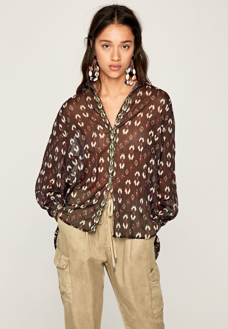 Pepe Jeans - GISELA - Button-down blouse - multi