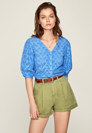 CLAUDIE - Blouse - ultra blau