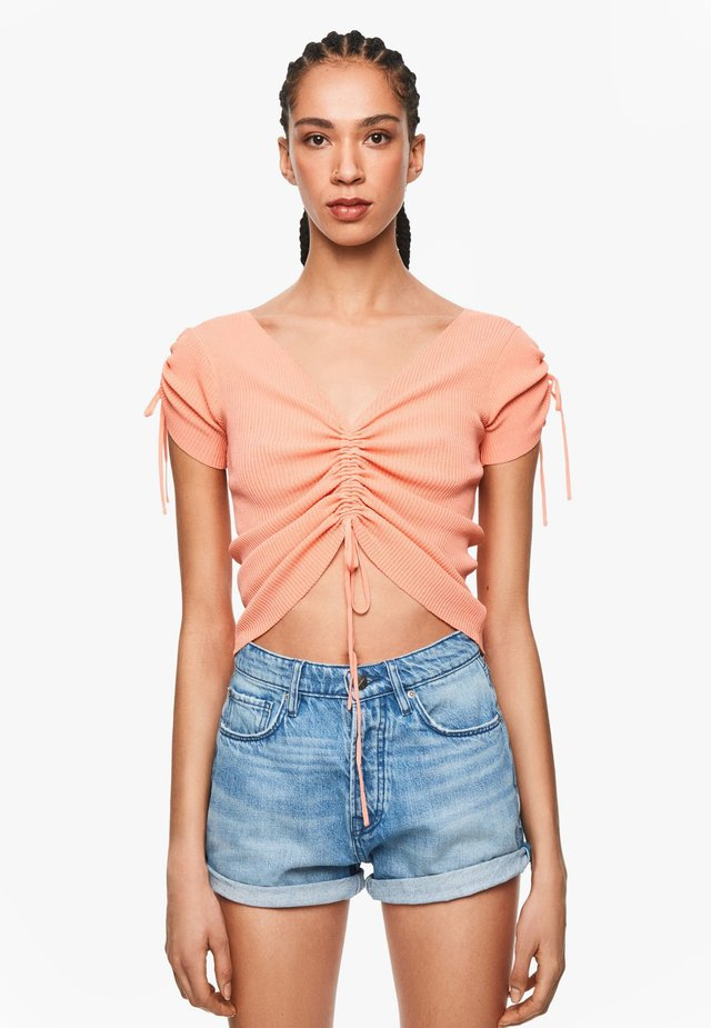 DUA LIPA X PEPE JEANS  - T-Shirt print - burnt orange