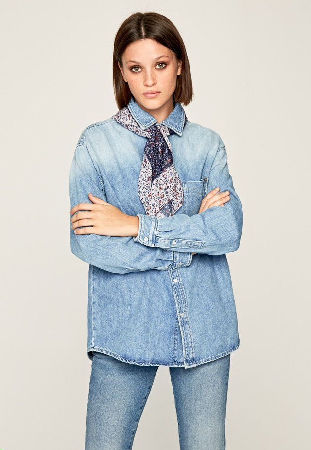 LUCY  - Camisa - blue denim