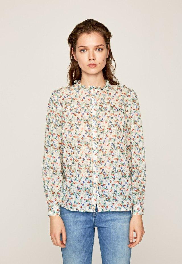 ANNA - Button-down blouse - multi-coloured