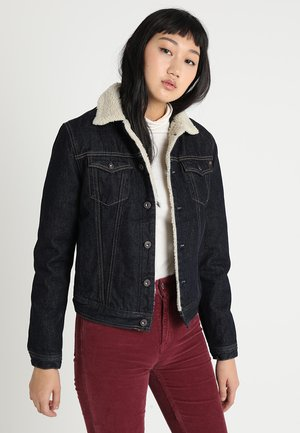 CORE JACKET - Chaqueta vaquera - 7aa denim