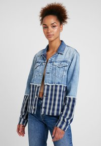 Pepe Jeans - JESS MIX - Kurtka jeansowa - light blue denim - 0