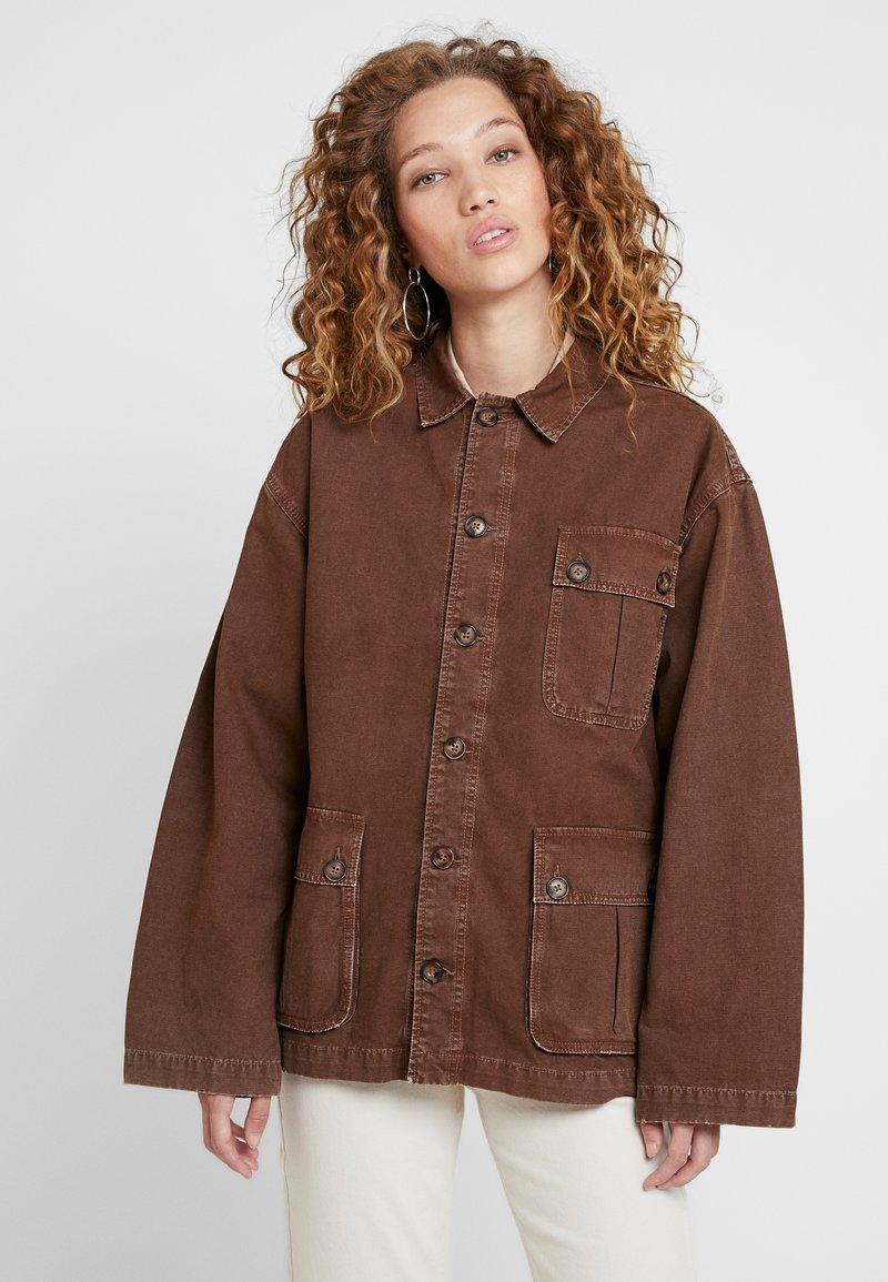 Pepe Jeans - DUA LIPA X PEPE JEANS - Denim jacket - denim