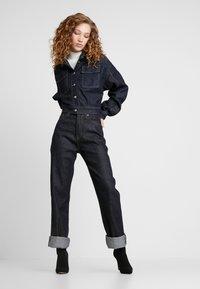Pepe Jeans - DUA LIPA X PEPE JEANS - Kurtka jeansowa - rinsed denim - 1