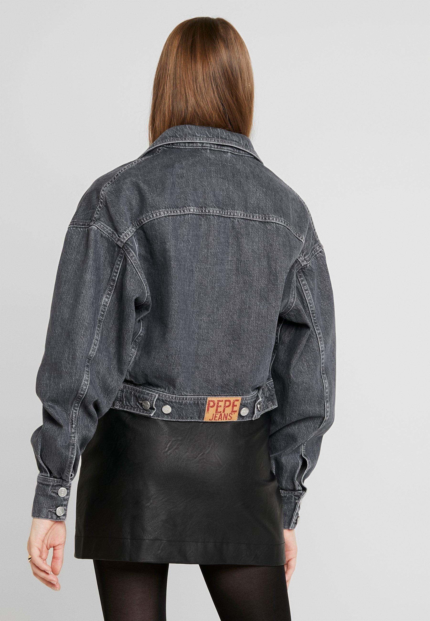 Pepe Jeans SUE - Kurtka jeansowa - denim