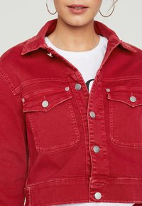 Pepe Jeans - TIFFANY - Denim jacket - pillarbox red - 4