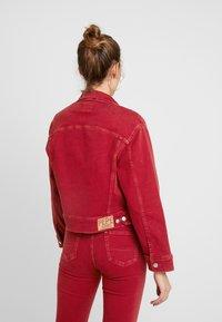 Pepe Jeans - TIFFANY - Denim jacket - pillarbox red - 2