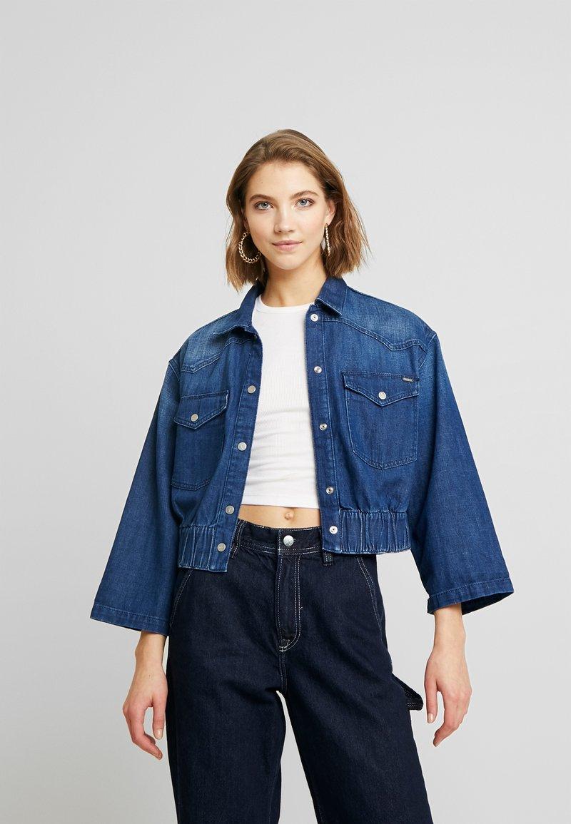 Pepe Jeans - CARLI - Kurtka jeansowa - denim