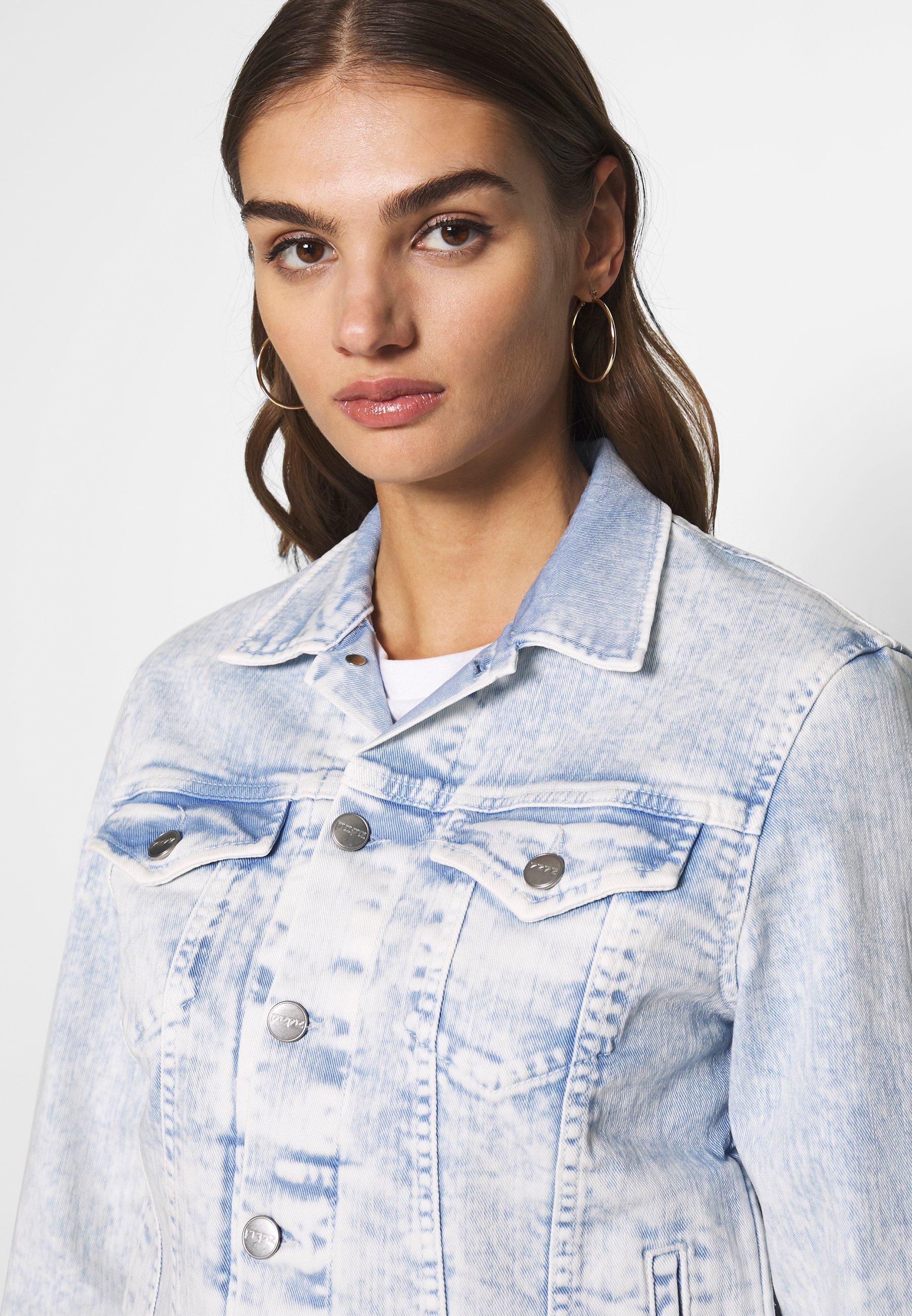 Pepe Jeans ROSE MOON - Jeansjakke - ultra blue