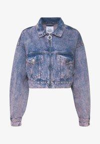 Pepe Jeans - DUA LIPA x PEPE JEANS - Kurtka jeansowa - denim - 4