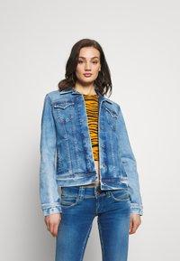 Pepe Jeans - THRIFT - Džínová bunda - denim - 0