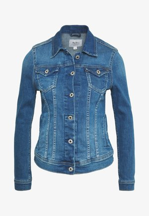 THRIFT - Jeansjakke - blue denim
