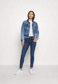 Pepe Jeans - CORE JACKET - Kurtka jeansowa - blue denim - 1