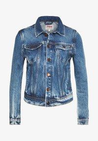 Pepe Jeans - CORE JACKET - Džínová bunda - blue denim - 4