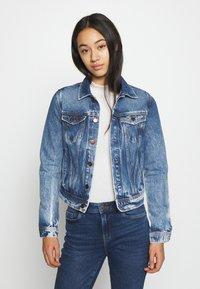 Pepe Jeans - CORE JACKET - Džínová bunda - blue denim - 0