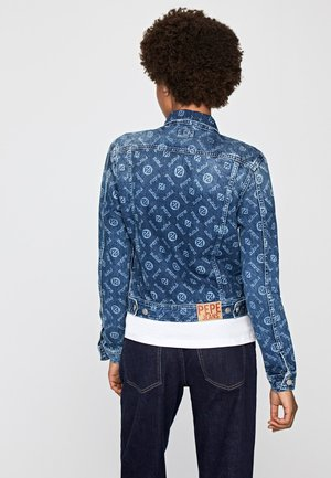 MADDIE LOGO - Veste en jean - blue denim